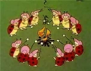 Ladybugs picnic